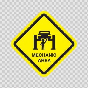 Mechanic Area Sign 14853
