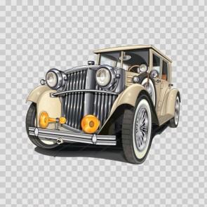 Antique Car Sign 14870