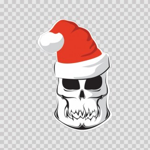 Skull Santa Claus 14880
