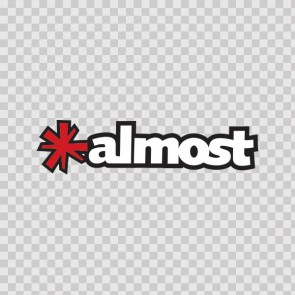 Almost Skate Sticker 15005