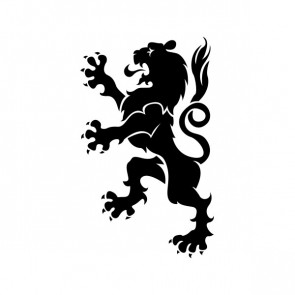 Heraldic Lion 15351