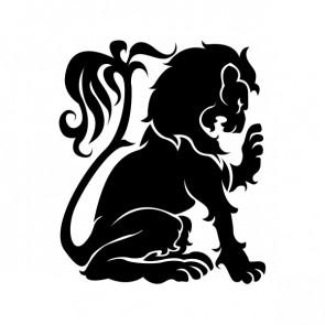 Heraldic Lion 15352