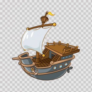 Cartoon Ship 15631