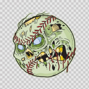 Baseball Zombie Ball 15656