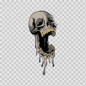 Melted Skull 15675