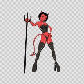 Sexy Evil Devil Woman 15677