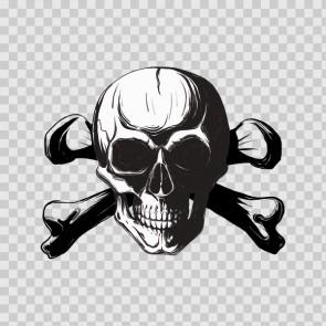 Crossbone Skull 15741