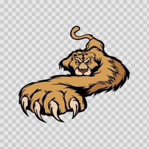 Lion Attack Mascot 15745