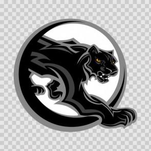 Black Panther In Circle 15759