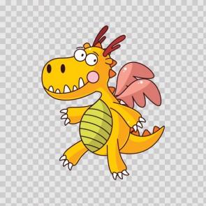 Fairytale Happy Dragon 15802