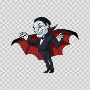 Happy Halloween Dracula Vampire 15829