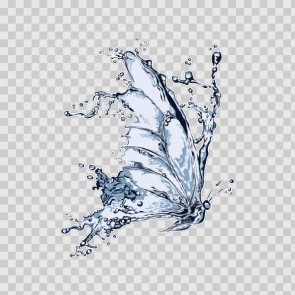 Water Splash Butterfly 15833