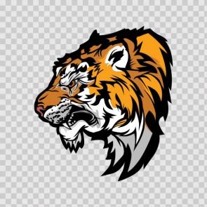 Tiger Head 15844