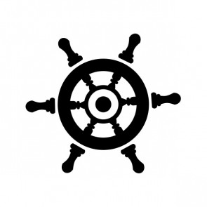 Boat Steering Wheel 15863