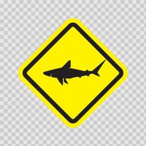 Sharks Area Sign 15872