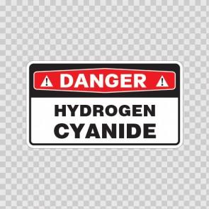 Danger Hydrogen Cyanide 18037