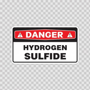 Danger Hydrogen Sulfide 18039