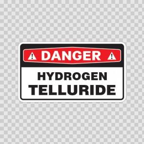 Danger Hydrogen Telluride 18040