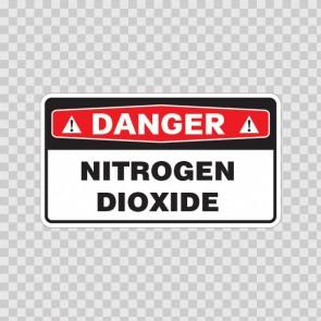 Danger Nitrogen Dioxide 18042