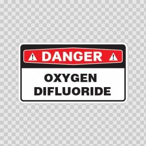 Danger Oxygen Difluoride 18044