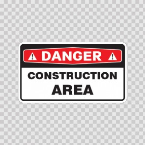 Danger Construction Area 18467