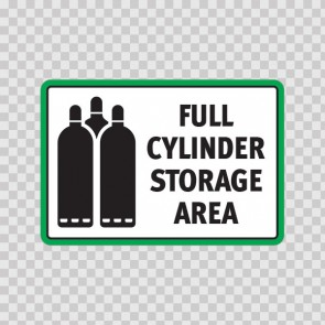 Full Cylinder Storage Area. 18612