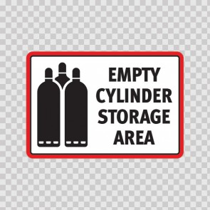 Empty Cylinder Storage Area. 18613