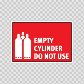Empty Cylinder. Do Not Use. 18615