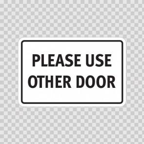 Please Use Other Door 18776