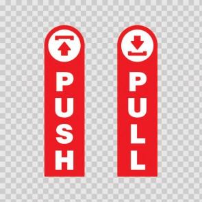 Push - Pull Door Open Close 18783