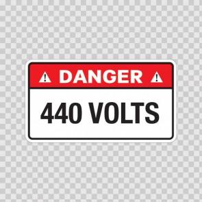 Danger 440 Volts 18953