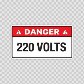 Danger 220 Volts 18955