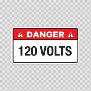 Danger 120 Volts 18957