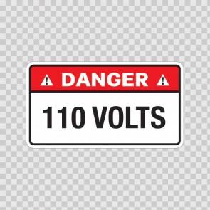 Danger 110 Volts 18958