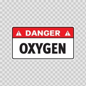 Danger Oxygen 19122