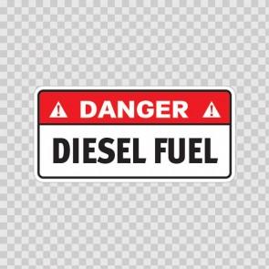 Danger Diesel Fuel 19124