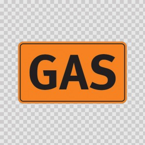 Gas Sign 19125