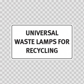 Universal Waste Lamps For Recycling 19358