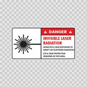 Danger Invisible Laser Radiation. Avoid Eye & Skin Exposure To Direct Or Scattered Radiation.. 19462