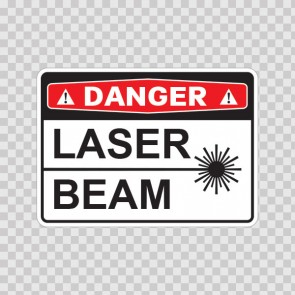 Danger Laser Beam  19465