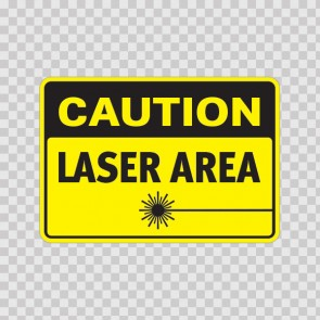 Caution Laser Area  19472