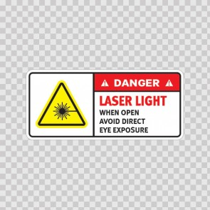 Danger Laser Light When Open. Avoid Direct Eye Exposure. 19475
