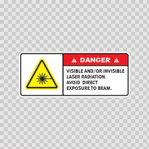 Danger Visible And/Or Invisible Laser Radiation. Avoid Direct Exposure To Beam.  19478