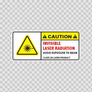 Caution Invisible Laser Radiation. Avoid Exposure To Beam. Class 3r Laser Product. 19480