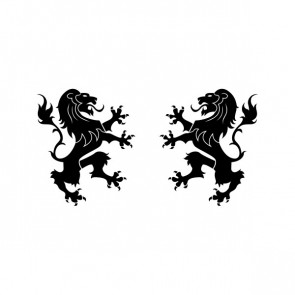 Lion Figure Heraldic 21011