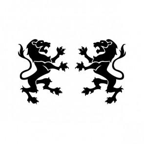 Lion Figure Heraldic 21014