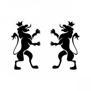 Heraldic Lions 21031