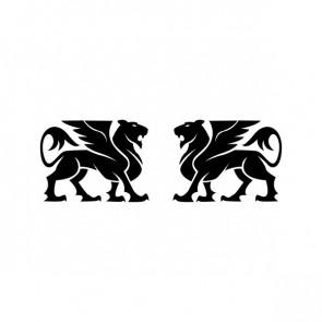 Heraldic Lions 21032