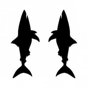 Pair Of Sharks 21045