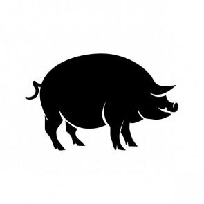 Pig Pork Figure Butcher Decoration 21083